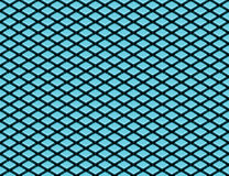 Isometric Cube Texture (seamless). Texture made of blue 3d cubes in isometric perspective (even lighting - seamless Stock Image
