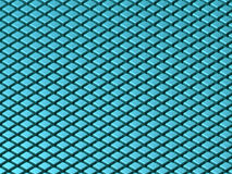 Isometric Cube Texture (uneven lighting). Texture made of blue 3d cubes in isometric perspective (unevenly lit - NOT suitable for seamless pattern Royalty Free Stock Image