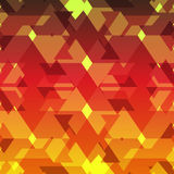 Isometric cubes repeatable pattern. 3D background. Vector. EPS Stock Image