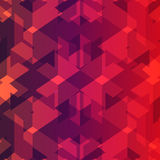 Isometric cubes repeatable pattern. 3D background. Vector. EPS Royalty Free Stock Photos