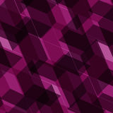 Isometric cubes seamlessly repeatable pattern. 3D background. Vector. EPS Stock Images