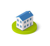 Isometric 3D icon Royalty Free Stock Photography