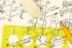 Isometric diagram Stock Images