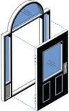 Isometric Door Stock Photos