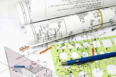 Isometric Drawings Royalty Free Stock Image