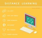 Isometric education infographic Stock Image