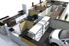 Isometric environment_09 Stock Photos
