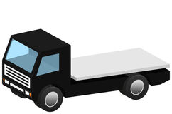 Isometric flatbed recovery vehicle icon 3D Royalty Free Stock Photos