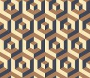 Isometric geometric pattern Royalty Free Stock Photo
