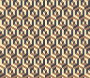 Isometric geometric pattern Stock Photography
