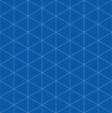 Isometric graph paper for 3D design Royalty Free Stock Photography