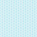 Isometric graph paper Royalty Free Stock Photography