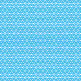 Isometric grid white on a blue background. Template for your design. A vector format Royalty Free Stock Photo