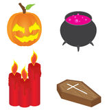 Isometric Halloween Icon Royalty Free Stock Images