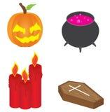 Isometric Halloween Icon Royalty Free Stock Images
