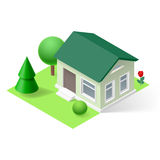 Isometric home Royalty Free Stock Image