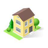 Isometric home Royalty Free Stock Images
