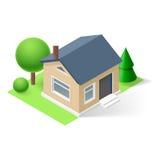 Isometric home Royalty Free Stock Photo