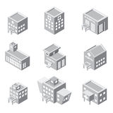 Isometric hospital building icon Stock Photo