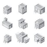 Isometric hospital building icon Stock Photo