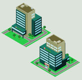Isometric hospital Royalty Free Stock Image
