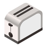 Isometric icon of a  toaster Stock Photography