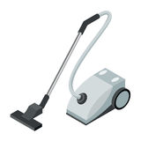 Isometric icon of a vacuum cleaner Royalty Free Stock Images