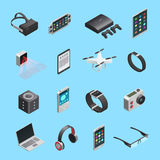 Isometric Icons Set Of Gadgets Royalty Free Stock Photos