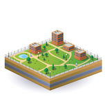 Isometric image Royalty Free Stock Photos
