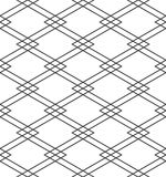 Isometric linear pattern Royalty Free Stock Images