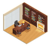 Isometric Luxury Interior Royalty Free Stock Images