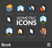Isometric outline icons set 44 Stock Image