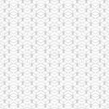 Isometric pattern of cubes. Seamless isometric pattern of cubes,  linear background of delicate lines, black and white geometric contemporary ornament Stock Photos