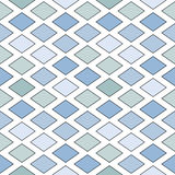 Isometric pattern of diamonds Royalty Free Stock Photography