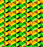 Isometric pattern Stock Image