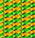 Isometric pattern Stock Image