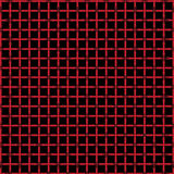 Isometric pattern in three red color Stock Photo