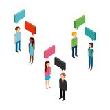isometric people design Stock Photo