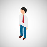 Isometric people design. Isometric people  design,  illustration eps10 graphic Stock Images