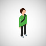 Isometric people design. Isometric people  design,  illustration eps10 graphic Stock Photos