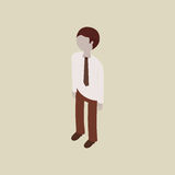 Isometric people design Stock Photos