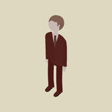 Isometric people design Stock Photography