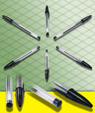 ISOMETRIC PHOTOGRAPH of a Ballpoint Pen  Stock Photos