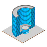 Isometric projection Royalty Free Stock Photo