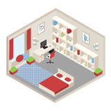 Isometric room Stock Photography