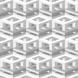 Isometric seamless background Stock Image