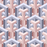 Isometric seamless background Stock Images