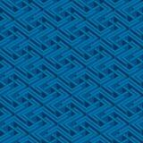 Isometric seamless pattern Royalty Free Stock Photo