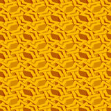 Isometric seamless pattern. Abstract illusory endless ornament texture. Fashion geometric background for web or printing design. Swatch is attached stock illustration