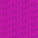 Isometric seamless pattern Stock Photo